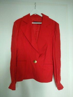 Jersey Blazer red cotton