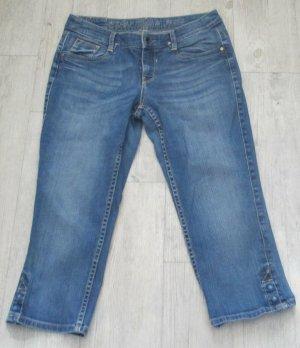 Esprit Jeans a 3/4 blu fiordaliso-blu acciaio Cotone