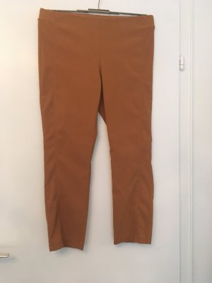 Stehmann Pantalone a sigaretta color cammello Viscosa