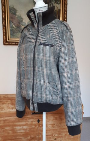Modische Jacke, Glencheck- Hahnentrittmuster