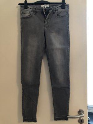 Mango Jeans elasticizzati grigio