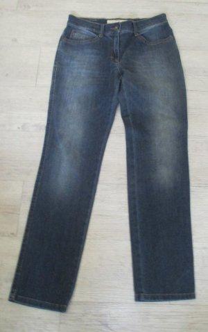 Brax Jeansy z prostymi nogawkami ciemnoniebieski