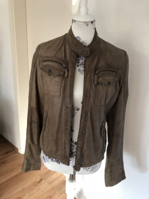 Chevirex Leather Jacket camel