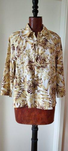 Ann LLewellyn Linnen blouse veelkleurig Linnen