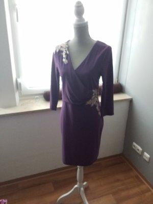 BOYFRIEND Cekinowa sukienka fiolet