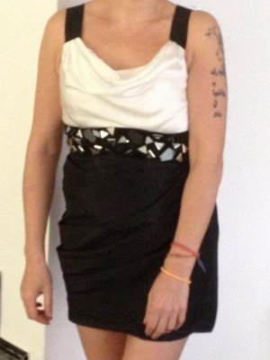 Modische Mini Cocktail Kleid