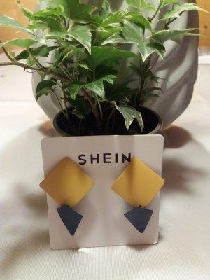 SheIn Klips piaskowy brąz-ciemnoniebieski