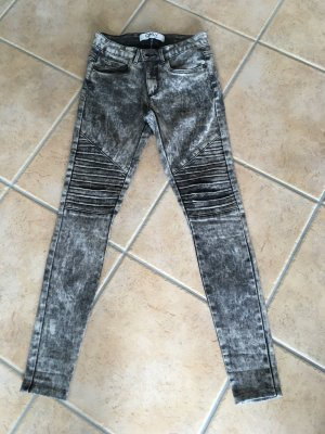 Only Jeans skinny noir-gris