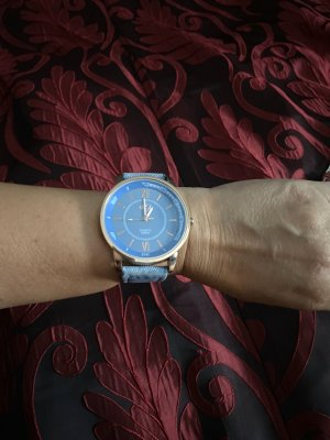 Analog Watch azure
