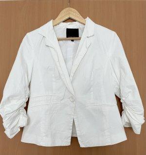 Amisu Klassischer Blazer wit