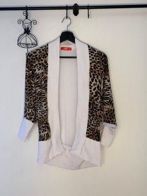 modischer Cardigan mit Leopardenprint