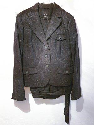 esprit collection Costume business gris anthracite-gris clair