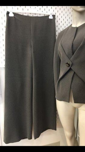 Giorgio  Armani Tailleur-pantalon gris-noir