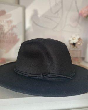 SheIn Wełniany kapelusz czarny