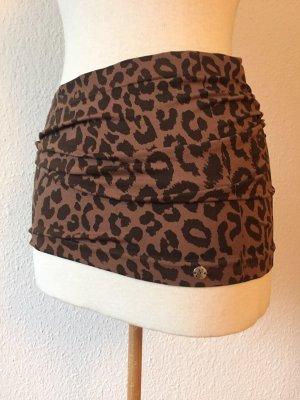 Kidneykaren Cinturón de tela marrón-marrón-negro Algodón