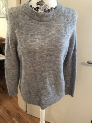 Hennes Collection by H&M Pull ras du cou gris clair