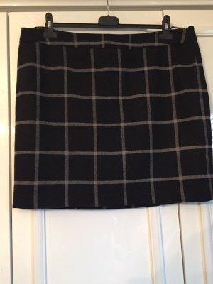 Tom Tailor Gonna di lana nero-grigio chiaro