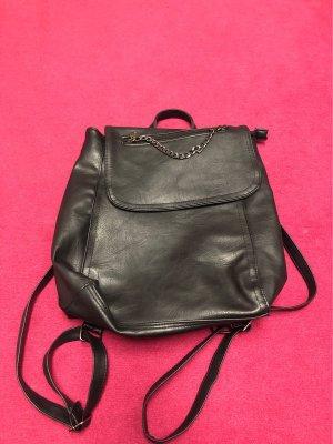 0039 Italy Mały plecak czarny