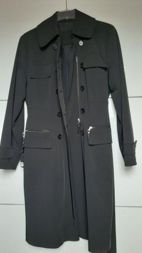 Marc Aurel Quilted Coat black