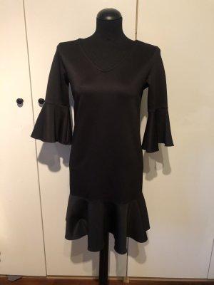 Laurèl Flounce Dress black