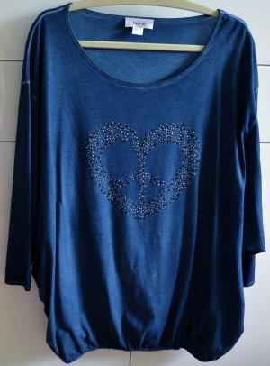 Heine Camicia lunga blu Cotone