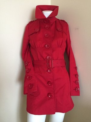 Modsrom red rain coat