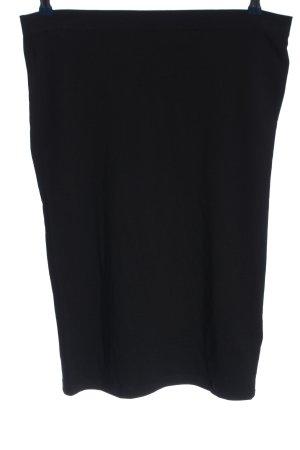Modström Ołówkowa spódnica czarny W stylu casual