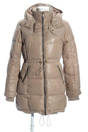 Modström Płaszcz puchowy brązowy W stylu casual