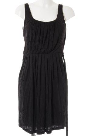 Modström Vestido de tela de jersey negro look casual