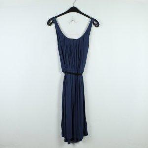 Modström Vestido tipo overol negro-azul oscuro modal