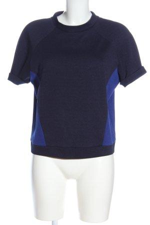 Modström Short Sleeved Blouse black-blue allover print casual look