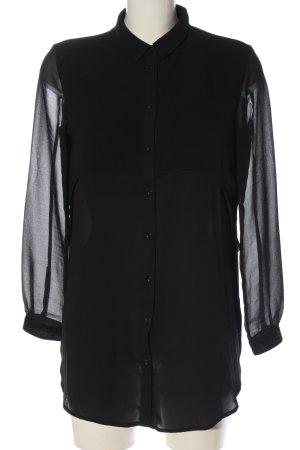 Modström Camisa de manga larga negro look casual