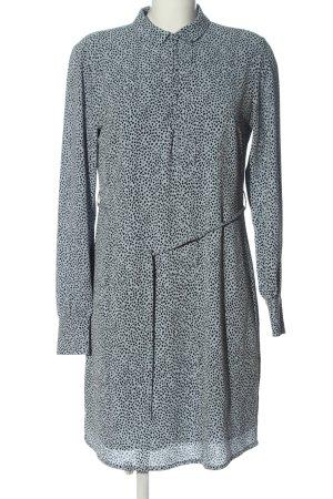 Modström Vestido de manga larga gris claro-negro look casual