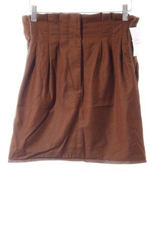 Modström Miniskirt brown casual look