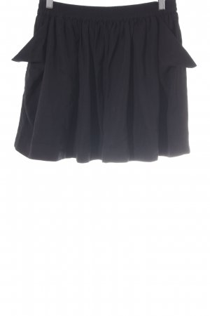 Modström Minirock schwarz schlichter Stil