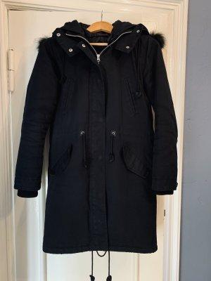 Modström Płaszcz zimowy czarny