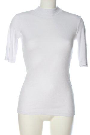 Modström Camicia a coste bianco stile casual