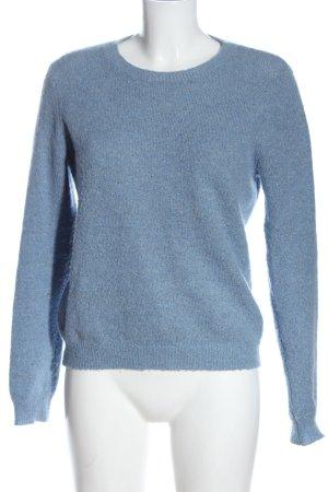 Modström Jersey de cuello redondo azul look casual