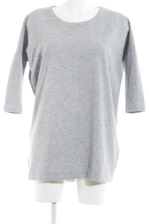 Modström Shirtkleid hellgrau meliert Casual-Look