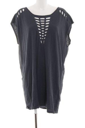 Modström Shirttunika schwarz Casual-Look
