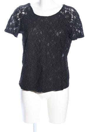 Modström Lace Top black casual look