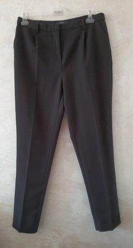 Modström pantalón de cintura baja negro