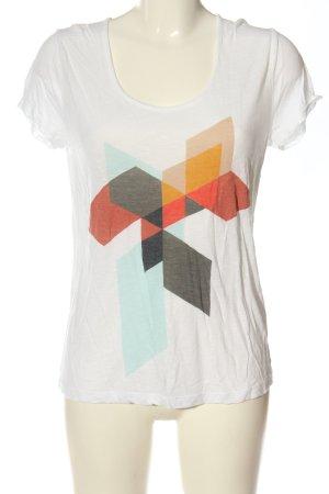Modström Camiseta estampado con diseño abstracto look casual