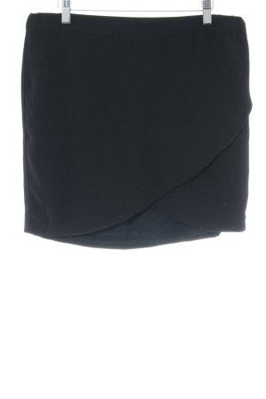 Modström Jupe portefeuille noir style simple