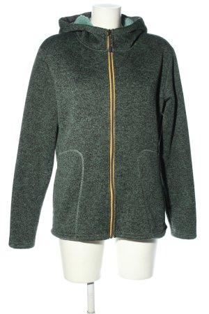 möberg Sweat Jacket turquoise-black allover print casual look