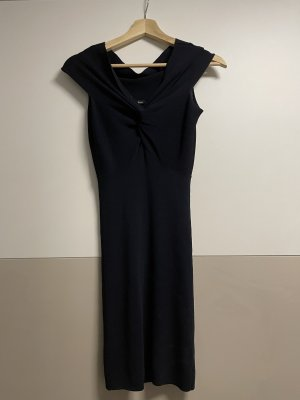 Mötivi Tube Dress dark blue viscose