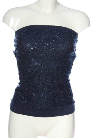 Mötivi ärmellose Bluse blau Elegant