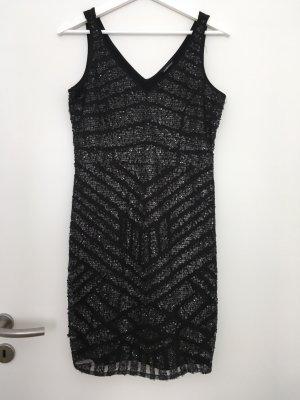 Mötivi Paillettenkleid in schwarz