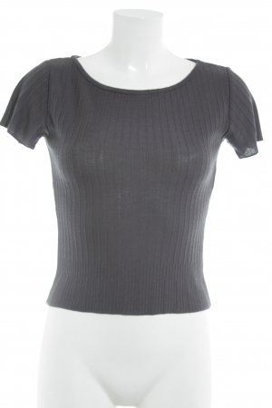 Mötivi Strickshirt anthrazit Casual-Look