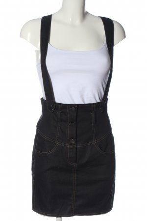 Mötivi Overgooier rok zwart casual uitstraling
